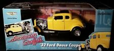 ERTL - 1:18 American Graffiti - 1932 Ford Deuce Coupe - Limited Edition - yellow