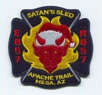 Rural Metro Fire Department Engine 857 Rescue 857 Mesa Patch Arizona AZ