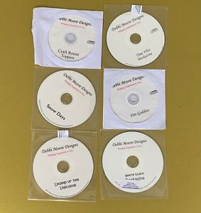 DEBBI MOORE DESIGNS CRAFTING CD ROM BUNDLE 6 DISCS