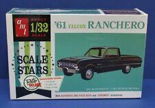 AMT Round 2 984/12 Retro Deluxe 1961 Ford Falcon Ranchero Kit 1:32 Mint Sealed