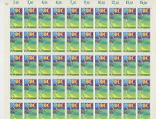 (SH5) 1974 WEST GERMANY  DEUTSCHE BUNDESPOST FULL SHEET OF MNH STAMPS SG 1704