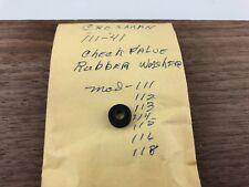 Crosman CHECK VALVE RUBBER WASHER part# 111-41 fits 111,112,113,114,115,118(C27)