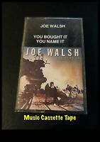 Joe Walsh You Bought It You Name It - Cassette Tape - WB - 23884-4