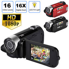1080P Hd Camcorder Digital Video Camera Tft Lcd 24Mp 16X Zoom Dv Av Night Vision