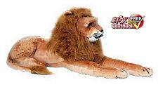 Giant Plush Jumbo Big Stuffed Lion King Animals Soft Huge Real Toys Doll Gift