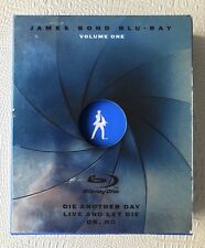 James Bond Blu-Ray Collection - Vol. 1 (Blu-ray Disc, 2009, 3-Discs, Widescreen)