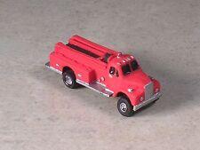 N Scale 1954 B Model Mack Fire Pumper