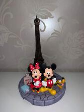 Tour Eiffel Mickey and Minnie Disney Statue (disneyland Paris rare exclusive)