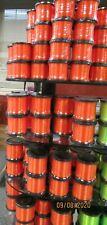 New Edition Catch The Fever Neon Orange Slime Line 20# Mono Fish 1/2 lb Spool