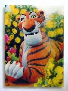 Shere Khan - Jungle Book - 3D Lenticular Postcard - Walt Disney - 1967 WC Jones