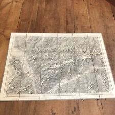 carte géographique N144 topographique de la suisse carte dufour