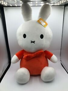 Official Large Mercis Red Miffy Plush Kids Soft Stuffed Toy Animal Bunny Rabbit
