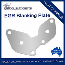 Holden EGR Blanking Plate Colorado RC Rodeo RA 4JJ1 3.0TD Isuzu D-max with Hole