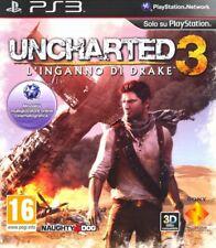 Uncharted 3 - L'inganno di Drake (ITA) PS3 - totalmente in italiano