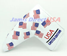 Headcover Putter Cover US USA Flag For Scotty Cameron Ping Odyssey Head covers