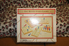 New Sealed Five Wood Sports Games