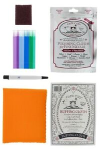Watch Cleaning Kit: Scratch Removal Pen, Cape Cod Polish Cloths, etc