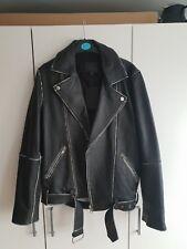 Men's Asos Leather Jacket XS