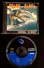 1994 FRANK ZAPPA WHAT'S WHY - ISRAEL ONLY CD - LIVE SONGS FROM 1988 + 1980 TOUR