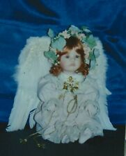 LINDA VALENTINO MICHEL Porcelain Doll ANGEL DU TEMPS Boxed MASTERPIECE GALLERY