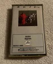 Rush - Signals Vintage Cassette Tape 1982 Polygram