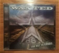 Wanted - Too Hot To Handle (New CD) Roxy Blue / Van Halen / Sweet F.A. / Kix