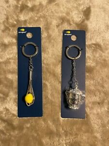 US Open Key Chain (Two Styles - Spinning Ball or Trophy Cup)