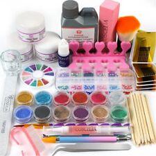 Nagelstudio Starterset - Acrylpulver - Nail Kit - Acrylpulver - Arcylflüssigkeit
