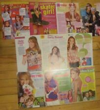 Emily Osment, Lot of TEN Full Page Clippings