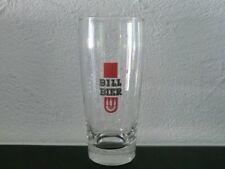Altes seltenes Bierglas 0,25 Bill Brauerei Hamburg Brauerei 1975 geschlossen