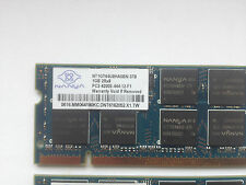 Nanya nt1gt64u8ha0bn-37b (1gb ddr2 pc2-4200s 533mhz per DIMM 200-pin)