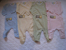 Babygrow Long Sleeve for Boys & Girls 100% Organic Cotton BNWT