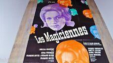 LES MAGICIENNES  !  affiche cinema  1960