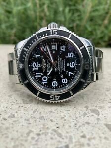 Breitling Superocean Il 42 A17365C9 2015 Box and Papers