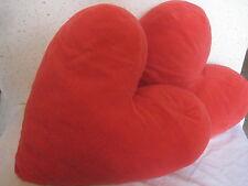 Lot de 2 Coussins en forme de cœur