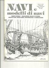 "REVUE  DE MODELISME  NAVAL  ITALIENNE ""NAVI e modelli di navi"" N°29 1980"