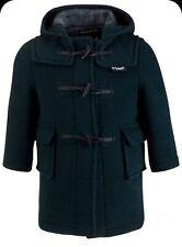 JCREW Crewcuts Gloverall Paddington Green Wool Duffel Toggle Duffle Coat Size 2