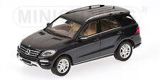 Minichamps Mercedes-Benz M-Klasse Baujahr 2011 tansanitblaumetallic  1:43