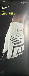 NEW IN BOX** Nike Dura Feel Golf Glove (Men's Reg, LEFT) MULTIPLE SIZES!