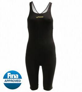 FINIS Women's Vapor Race John Kneeskin Tech Suit Swimsuit open back size: 26 NWT