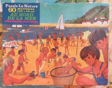 Puzzle Au bord de la mer, Fernand Nathan - Cavahel Vintage