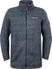 Columbia Boubioz Fleece Jacket Men's Sweater Jumper blue