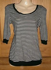 Striped Scoop Neck Classic Tops & Shirts NEXT for Women