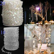 Vorhang Hochzeit Dekor Stränge Perlen Kristall DIY Events Praktischer Langlebig