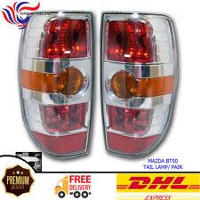 Fit 08-2011 Mazda BT50 BT-50 Xtr Chrome Pickup Ute Tail Lamp light Pair
