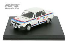 BMW 2002 ti-warmbold/todt-rallye san remo 1973 - 1:43 trofeu 1717