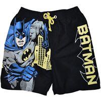 NEW DC COMICS BATMAN BOYS BOARDIE BOARDSHORTS SHORTS SIZE 1,2,3,4,5,6,7
