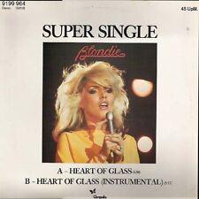 "Blondie Heart Of Glass 2 mixes Rare German 12"""