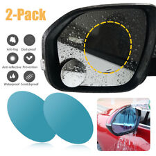 2Pcs Oval Car Auto Anti Fog Rainproof Rear view Mirror Protective Film Accessory