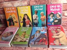 BULK VHS VIDEO MOVIE LOT CARRY ON SID JAMES CARRY ON DOCTOR MATRON GIRLS HENRY